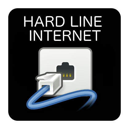 Hard line internet