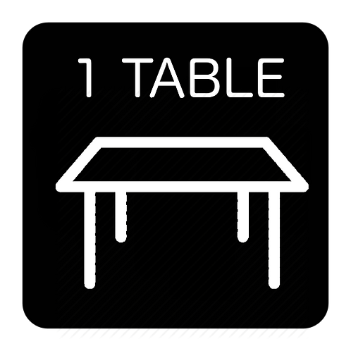 Skirted Table 8'- GTA