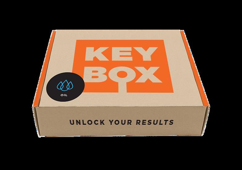KEY BOX - OIL TEST