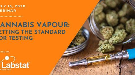 Cannabis Vapour: Setting The Standard for Testing Protocols // WEBINAR