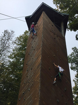 Climing Wall Blackhawk Indian Princesses