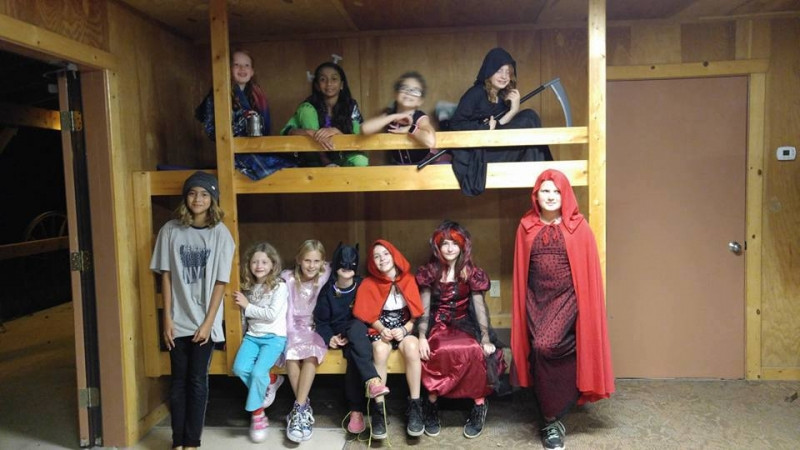 Halloween Cosumes Campout
