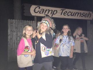 Canp Tecumseh Indian Princesses