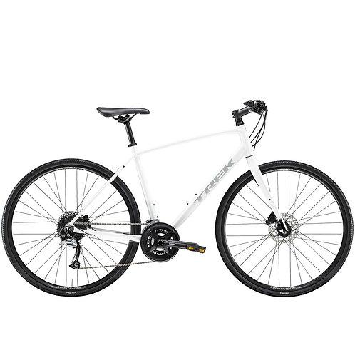 Hybridipyörä Trek FX 3 miesten valkoinen