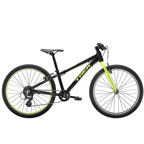 Nuorten polkupyörä Trek Wahoo 24 musta/vihreä