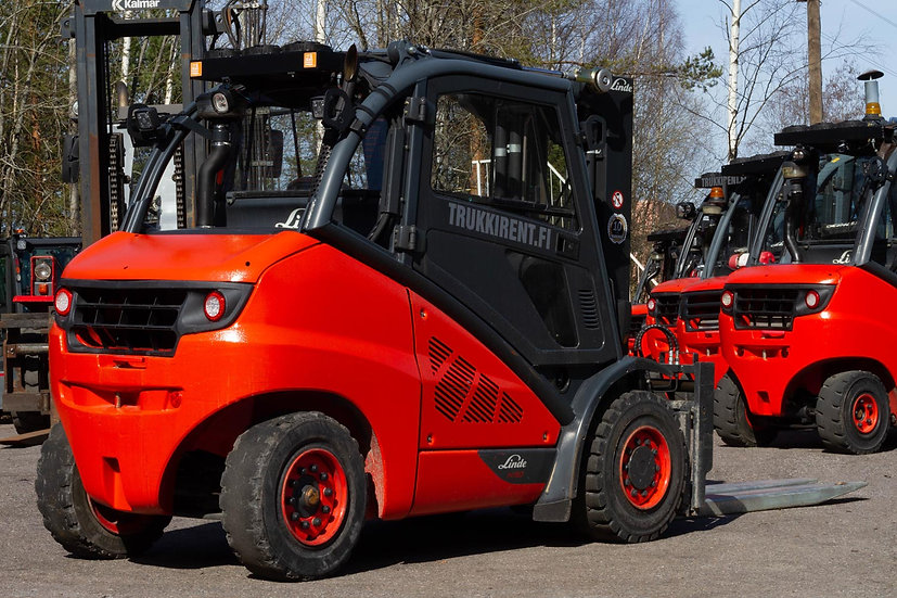 Dieseltrukki Linde H50D-02 2013