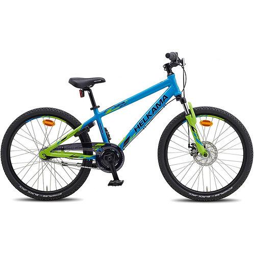 """Poikien 7-vaihteinen polkupyörä Helkama Scorpion 24"""""""