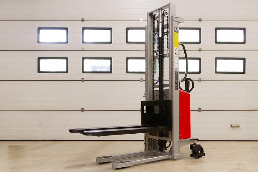 Uusi pinoamisvaunu Silverstone EMS1027 vasen etukulma