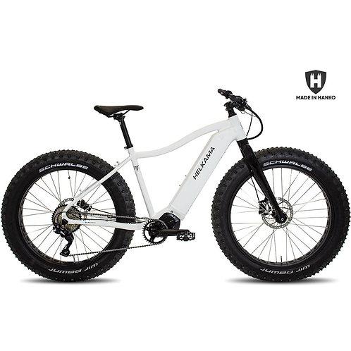 Sähkövausteinen fatbike Helkama FE10 valkoinen