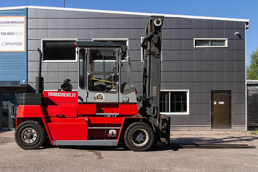 Käytetty dieseltrukki Kalmar DCD 90-6LH oikea sivu