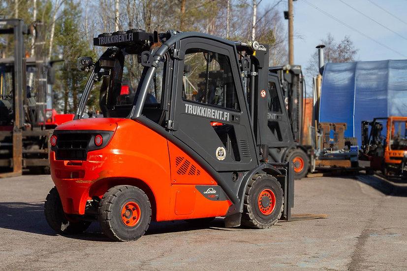Käytetty dieseltrukki Linde H35D-02 2013