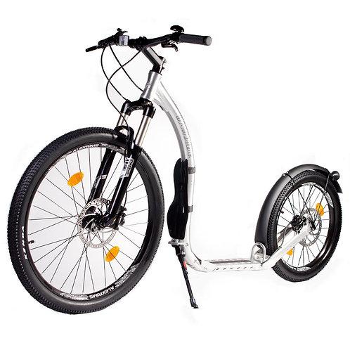 Kickbike Crossmax 20HD harjattu alumiini