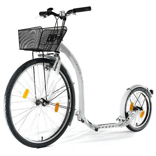 Potkupyörä Kickbike City G4 valkoinen