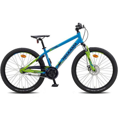 Poikien 7-vaihteinen polkupyörä Helkama Scorpion 26