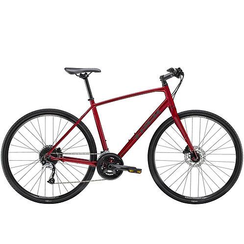 Hybridipyörä Trek FX 3 miesten punainen