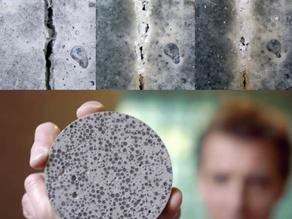 New Construction Technology - Self-Healing Concrete to Repair Cracks