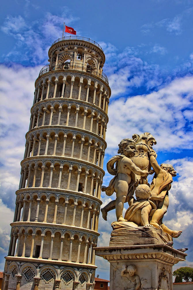 Pisa: um patrimônio da Toscana