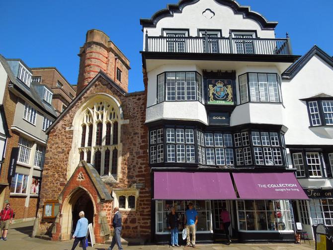 Uma futura viagem ao passado: Exeter