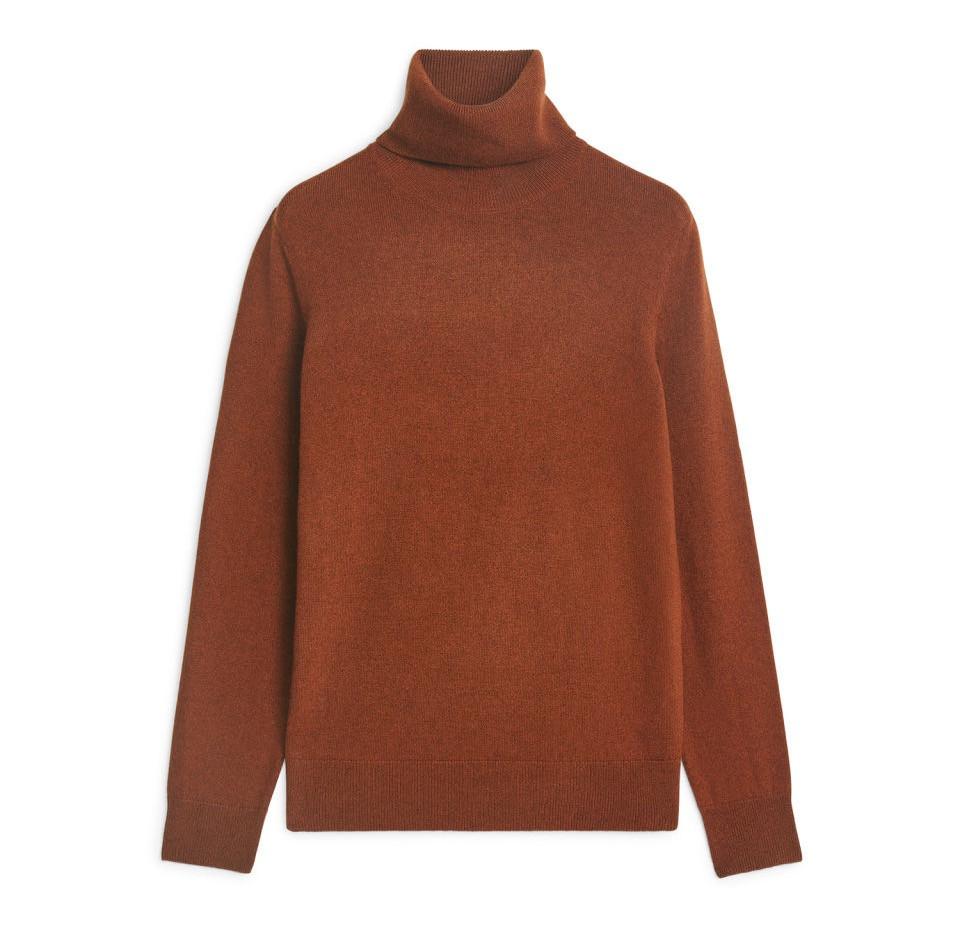 Arket Cashmere Roll-Neck Sweater