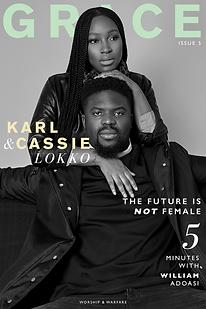 GRACE Issue 5 - Magazine Cover Main- Kar