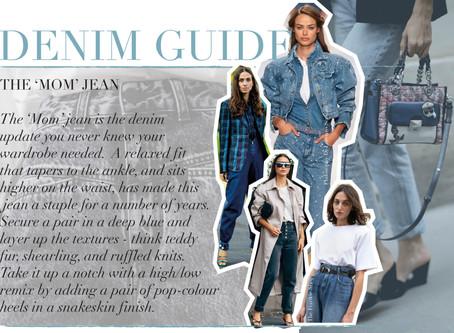 The Edit: The Fall Denim Guide