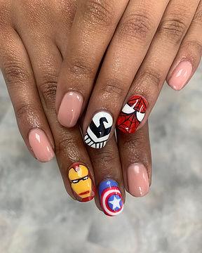 Sharon - Marvel nails - Avengers Assembl
