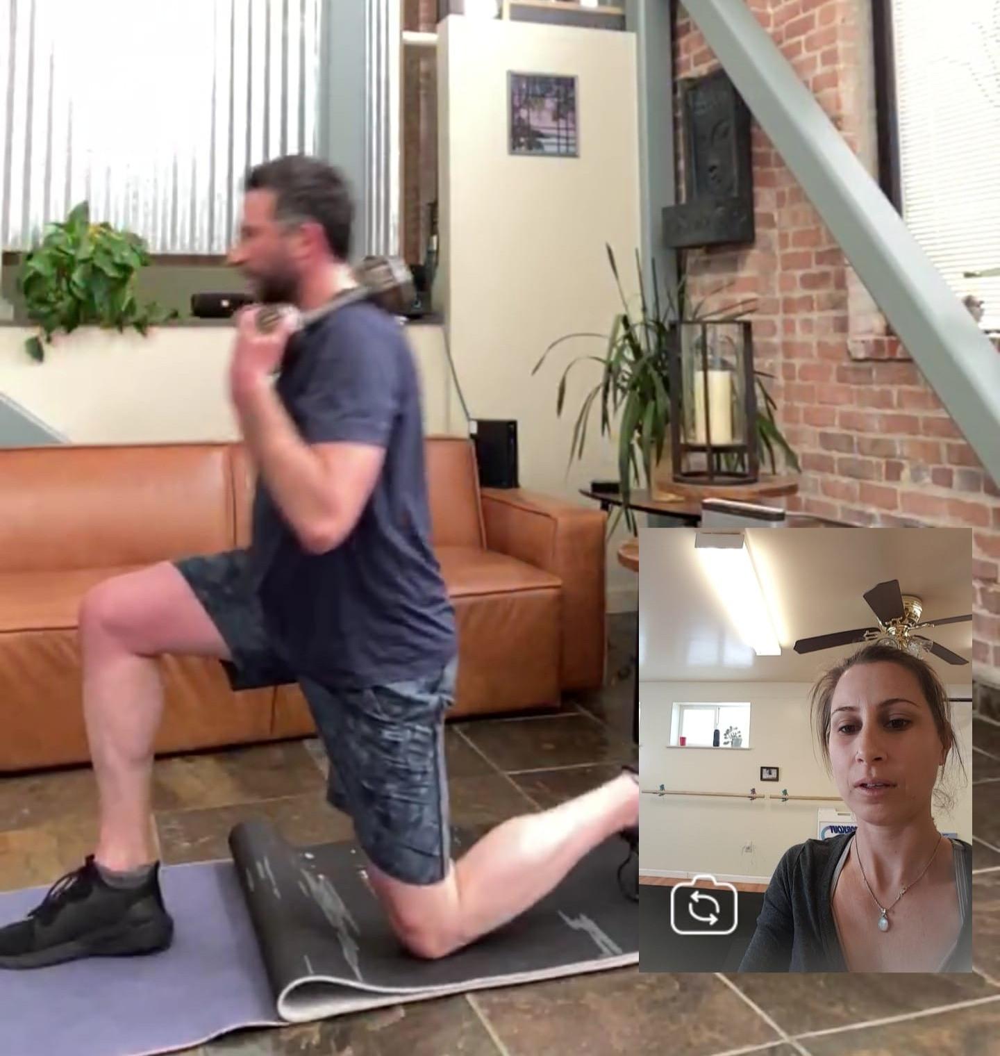 8 Virtual Personal Training Sessions