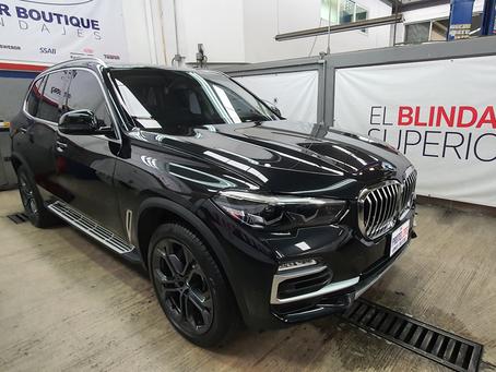 BMW X5 Blindaje III+Multihit Hybrid Performance(CEN BR4/FB4, NIJ IIIA) **VENDIDA**