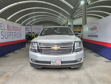 Chevrolet Suburban Premier 2016 Blindada B4+ $980,000