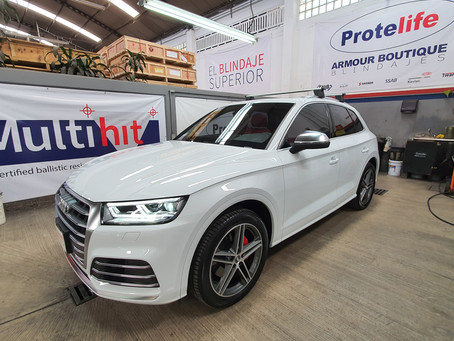 Audi SQ5 Blindaje Nivel III+Multihit (CEN BR4/FB4, NIJ IIIA) **VENDIDA**