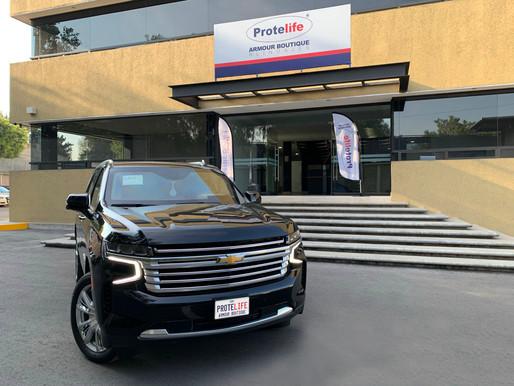 Chevrolet Tahoe 2021 Protelife Nivel 3 Plus Multihit (BR4/FB4 NIJ IIIA)