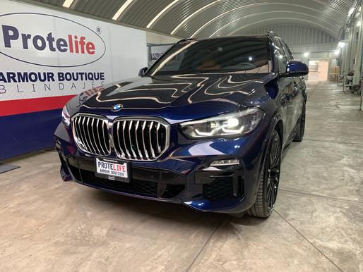BMW X5 XDrive45 E 2021 Blindada Nivel 3 Plus Multihit (BR4/FB4 NIJ IIIA) VENDIDA