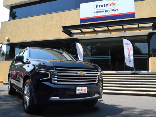 Chevrolet Suburban 2021 Protelife Nivel 5 (NIJ III) VENDIDA