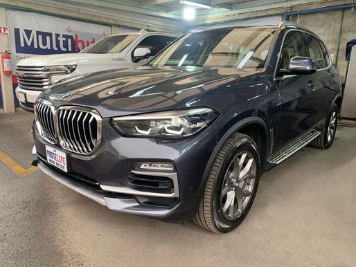 BMW X5 XDrive45 E 2021 Blindada Nivel 3 Plus Multihit (BR4/FB4 NIJ IIIA)