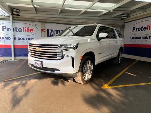 Chevrolet Suburban 2021 Protelife Nivel 3 Plus Multihit (BR4/FB4 NIJ IIIA)