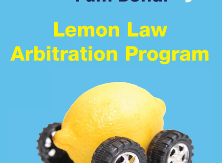 Pleased to be serving as a new member of Florida's New Motor Vehicle Arbitration Board