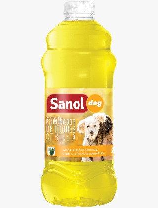 Eliminador de Odores Citronela Sanol 2 Litros