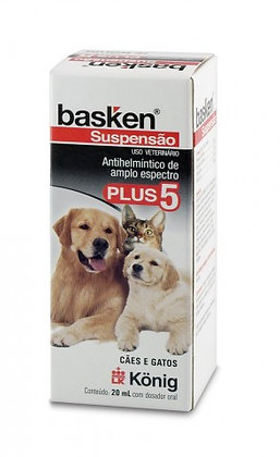 Basken Suspensão Plus 5 20ml