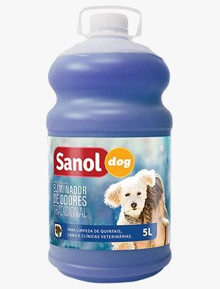 Eliminador de Odores Tradicional Sanol 5 Litros