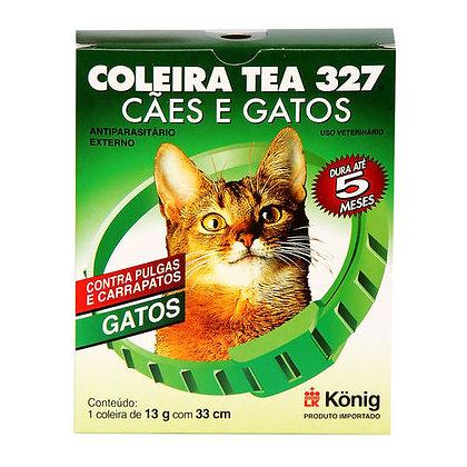 Coleira Tea 327 Gatos 13g e 33cm