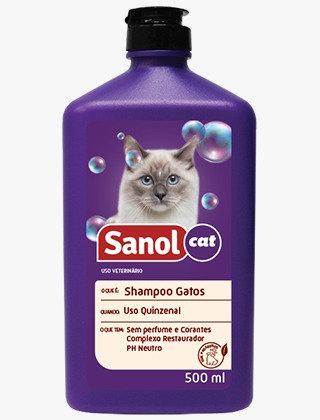 Shampoo Para Gatos 500ml