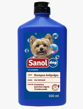 Shampoo Antipulgas 500ml