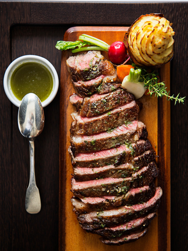 Delmonico's Steak