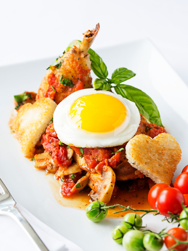 Chef Dunand's Poulet Marengo