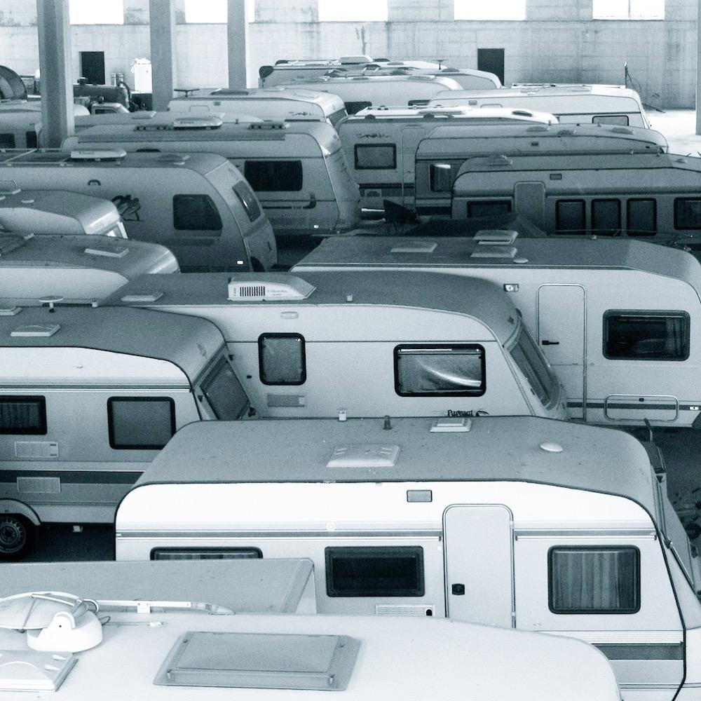 Caravan sleeping