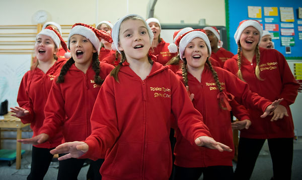 Rosie's Rainbow Choir don't stop believing channel 5