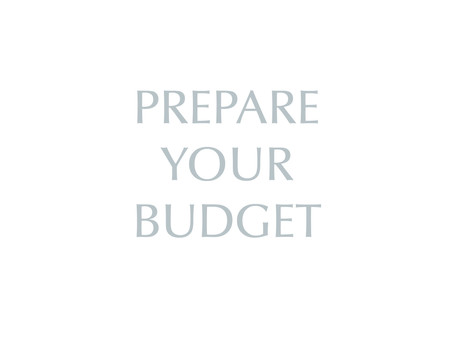 Preparing a Household Budget
