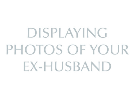 Pictures of the Ex-Husband
