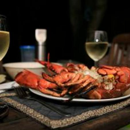 Valentine's Grilled Lobster