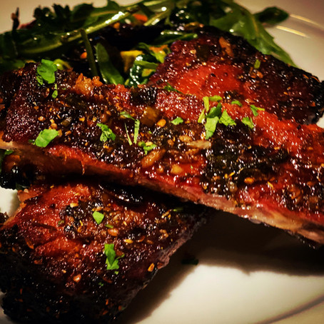 MOROCCAN-STYLE GLAZED RIBS